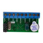 Z-5R контроллер без корпуса 1364 ключей/карт, 8...18В DC, 4ма, выход МДП-транзистор до 5А, перемычка выбора режима, длительность открытия 0...220сек., -40С до +50С, 45х25х14мм