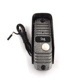 JSB-V05M PAL (серебро) Накладная 4-х проводная универсальная вызывная панель видеодомофона с цветной видеокамерой PAL высокого разрешения 600ТВЛ и широким углом обзора (90 градусов). ИК подсветка обеспечивает высокое качество видео в любое время суто