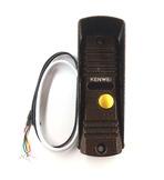 KW-139MCS-600 TVL PAL (медь) Kenwei Панель вызывная цветного видеодомофона PAL с ИК подсветкой с высоким разрешением видео, угол обзора 100гр, четырехпроводная, антивандальная, накладная, укомплектована уголком и козырьком для уличной установки.
