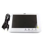 J2000-DF-Кристина бел. цветной видеодамофон 7, подкл. к 2-м выз. панелям, возможность подключ. к подъезд. домофону