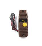 JSB-V05M PAL (медь) Накладная 4-х проводная универсальная вызывная панель видеодомофона с цветной видеокамерой PAL высокого разрешения 600ТВЛ и широким углом обзора (90 градусов). ИК подсветка обеспечивает высокое качество видео в любое время суток