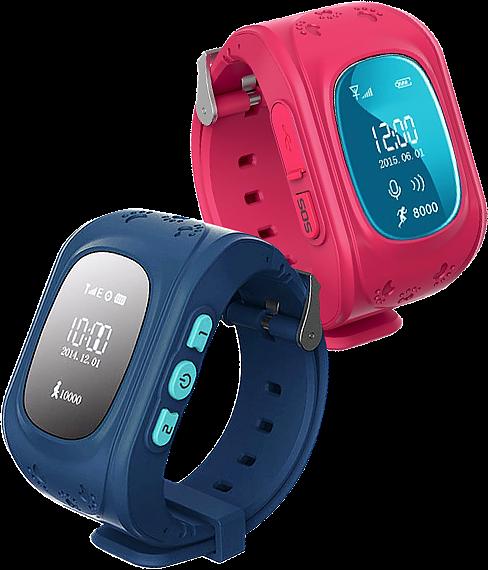 Часы оснащены датчиком снятия с руки и кнопкой sos, к тому же их можно использовать как телефон.